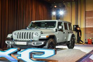 纯电续航里程约为40km Jeep牧马人4xe将于上海车展正式上市