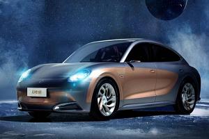 配无框车门及电动尾翼/双电机四驱系统 欧拉闪电猫最新预告图