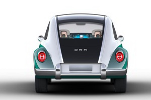 将于上海车展正式亮相 欧拉复古新车官图发布