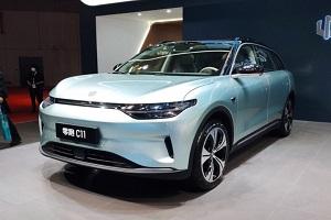零跑C11 OTS版车型正式亮相上海车展