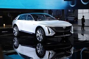 凯迪拉克纯电概念车LYRIQ正式亮相2021上海车展 极具未来感