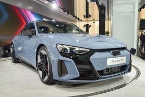 奥迪RS e-tron GT亮相2021上海车展