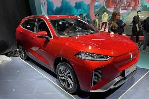 欧拉A+级纯电SUV亮相2021上海车展