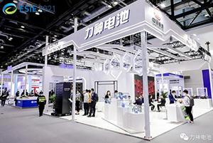 """""""储""""心如磐 """"能""""行致远 力神电池亮相储能国际峰会暨展览会2021"""