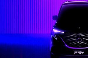 量产车有望在年内上市 奔驰EQT Concept车型将于5月10日亮相