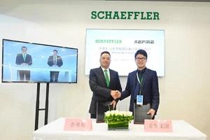 共同推进氢燃料电池汽车发展 舍弗勒与重塑股份签订战略合作协议