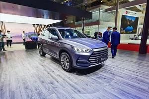 宋Pro DM-i新车亮相2021上海车展 油耗低至0.9L