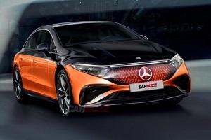 定位高性能纯电豪华轿车 梅赛德斯-AMG EQS 63渲染图