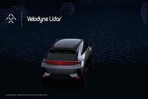 选定Velodyne为FF 91供应激光雷达