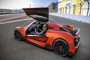 有望成为全球首款氢动力超级跑车 Viritech Apricale渲染图公布