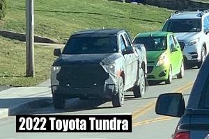 有望增加混动版车型 全新丰田坦途皮卡最新谍照