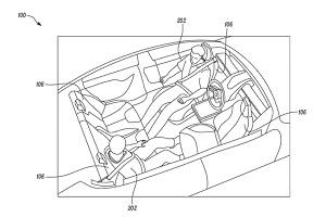 中置方向盘/可反转座椅 特斯拉全新专利曝光