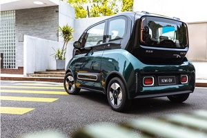 将推出6款车身配色 新宝骏KiWi EV外观设计灵感曝光