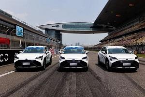 """""""氢能第一车""""AION LX Fuel Cell成功挑战顶级F1赛道"""