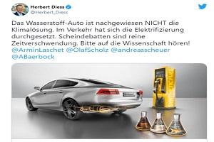 电动化是气候解决方案 大众CEO迪斯表示氢能车没那么环保