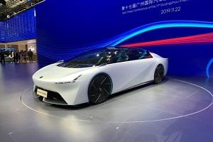 运用ENO.146概念车技术 广汽埃安发布全新纯电车型预告图