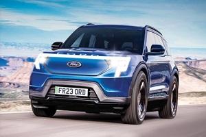 与大众MEB共享平台打造 福特全新纯电SUV或2022年亮相