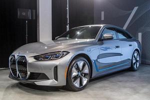 宝马i4实车亮相 预计将2022年登陆北美市场