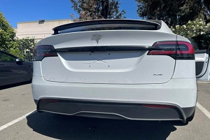 特斯拉Model X Plaid谍照曝光 0-97km/h仅需2.5s