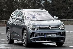 纯电中大型SUV 上汽大众ID.6 X将于2021年6月17日上市