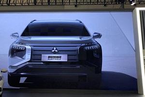 三菱电动SUV阿图柯内外饰设计在2021重庆车展曝光