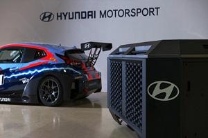 提供氢燃料电池发电系统 现代氢燃料电池系统进军赛车市场