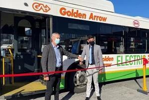 """比亚迪驶进""""彩虹之国"""",打造南部非洲首批正式运营的纯电动大巴"""