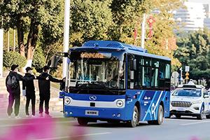 金龙客车助力,我国北方首条L4级自动驾驶公交体验线开通
