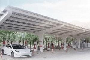 特斯拉光储充一体化充电站落地上海 全国第二座