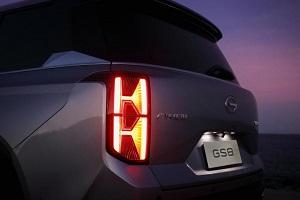 全新传祺GS8实车正式亮相 提供两种风格