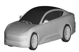 恒驰1专利图曝光 定位D级纯电旗舰轿车