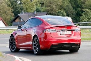 欲成为最速纯电轿车 特斯拉Model S Plaid正在纽北刷圈