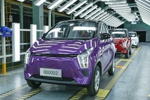 或8月开启预售/有望9月上市 奇鲁eC1纯电动车正式下线