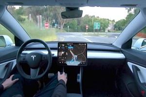 路况识别功能存安全隐患 美国对特斯拉自动驾驶进行正式调查