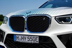 宝马iX5 Hydrogen官图发布 2022年实现量产
