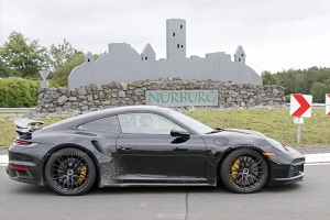 保时捷911 Turbo Hybrid谍照 预计2023年亮相