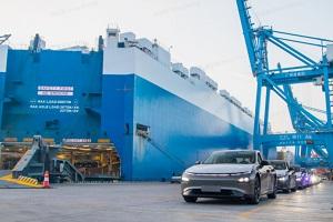 小鹏首批出口挪威P7已经启运 将于第四季度前交付