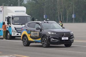 首届全国智能驾驶测试赛(北京赛区)在顺义隆重举行