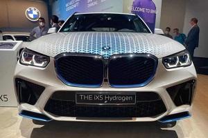 燃料电池上线 宝马iX5 Hydrogen亮相2021慕尼黑车展