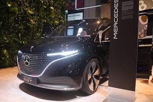 奔驰EQT概念车2021慕尼黑车展发布