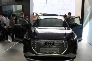 奥迪Q4 Sportback e-tron亮相2021慕尼黑车展