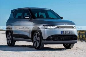 或将于2023年开始销售 起亚EV4假想图曝光