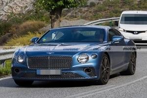或搭载飞驰2.9T插混动力系统 宾利欧陆GT插混版实车照片曝光