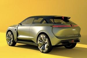 定位高于Megane E-Tech Electric 雷诺全新纯电SUV预告图