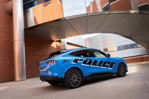 Mustang Mach-E接受美国警队测试 准备上街巡逻