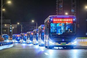 """100台""""新N系""""投运——中通客车助力济南公交""""零碳""""发展提速"""