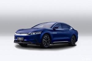 """""""极光蓝+金鳞橙""""全新配色 汉EV新车型将于9月28日上市"""