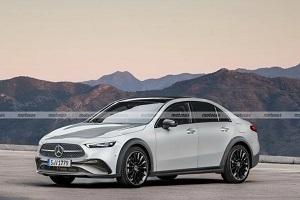 推出插混版车型 奔驰SUL原型车实车曝光
