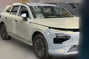 或定名小鹏P9 小鹏全新中大型SUV无伪装实车曝光