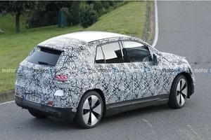 或将2023年引入国产 奔驰EQE SUV最新实车照片曝光